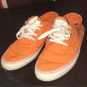 Orange DC Women's Skate Lo Sneaker